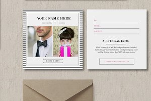 Wedding Photo Gift Card