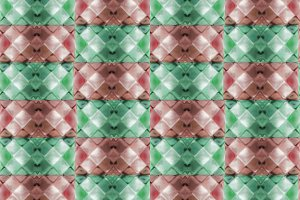 Colorful Modern Check Pattern