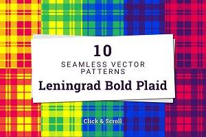 10 Patterns - Leningrad Bold Plaid