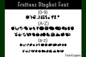 Fruitees Dinbat Font