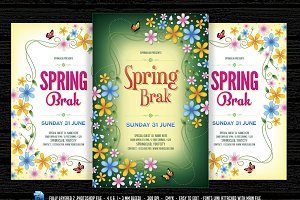 Spring Break /  Time Flyer
