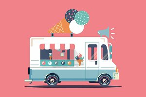 Ice cream car