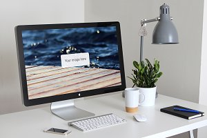Thunderbolt Display Mockups