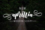 New Aprillia Script