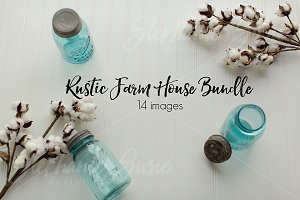 Rustic Farm House Mock Up Bundle