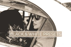 10 Black & White Lightroom Presets