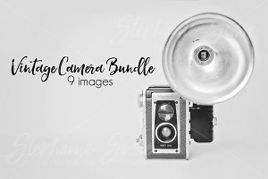 Vintage Camera Mock Up Bundle
