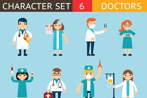 Doctor and Nurse Characters