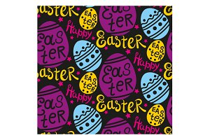 Easter Colorful Pattern