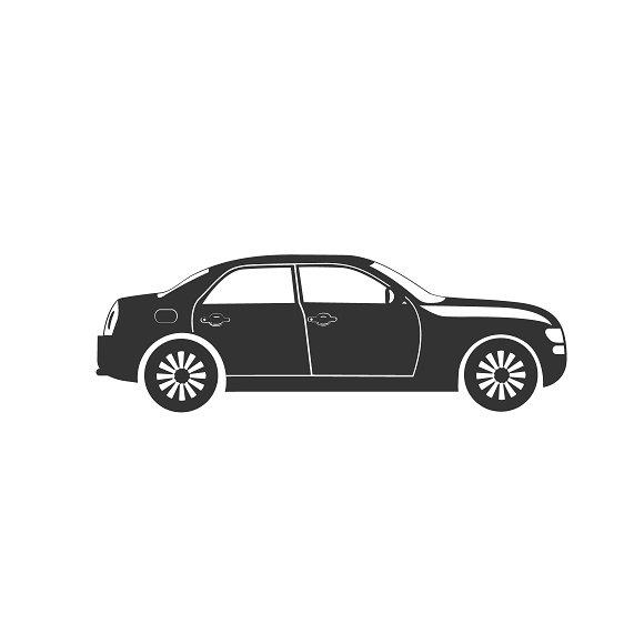 Car Icon Vector Illustrations Creative Market - Audi car vector