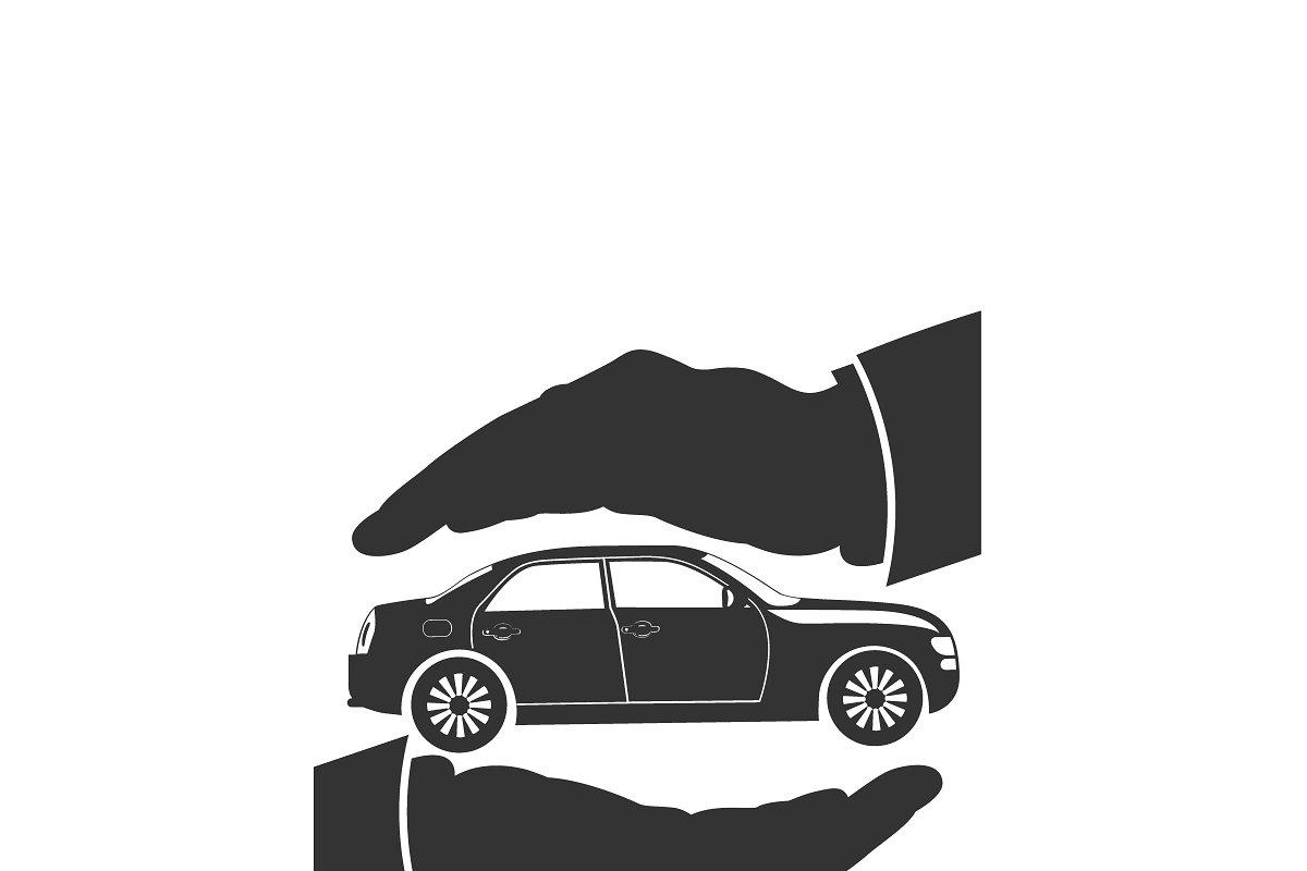 Car Insurance Protection Icon Illustrations Creative Market