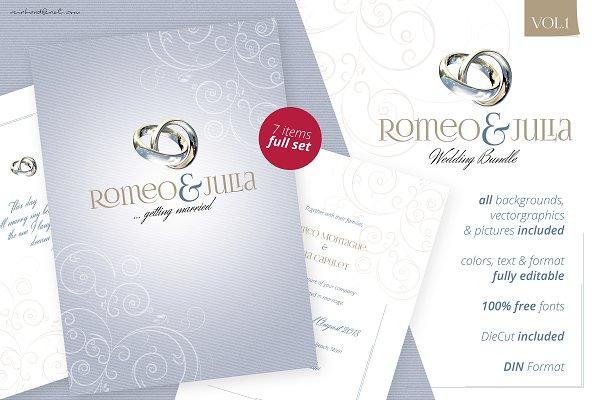 Wedding Bundle Vol.1 - Romeo & Juli…