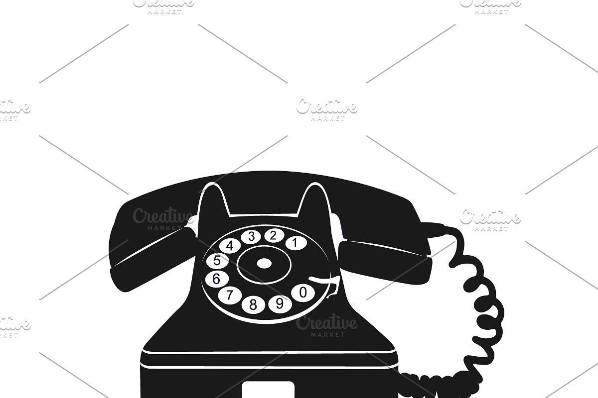 save  old telephone