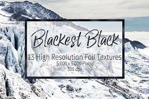 Black Foil Textures