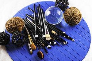 Make-up brushes and creativity
