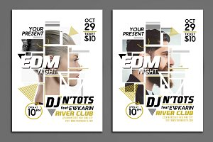 EDM Night Party Flyer