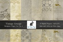 Vintage Grunge Background Papers #1