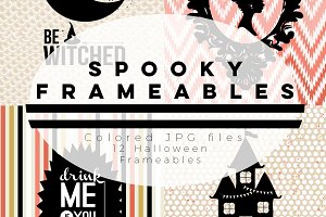 Spooky Frameables