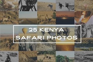 Kenya Safari Photo Pack