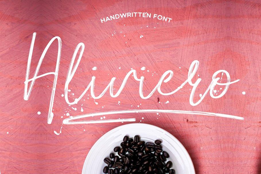 Aliviero Script in Script Fonts - product preview 8
