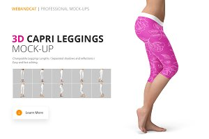 Capri Leggings Mock-up