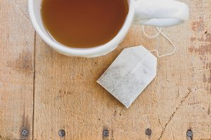 Tea and Tea Bag
