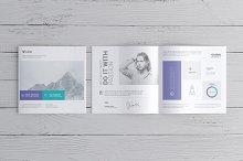 square booklet