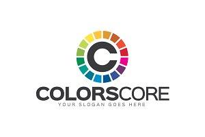 ColorsCore - Letter C Logo