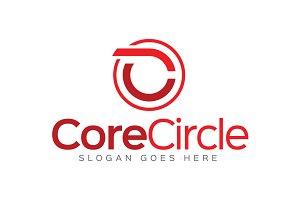 Core Circle - Letter C Logo