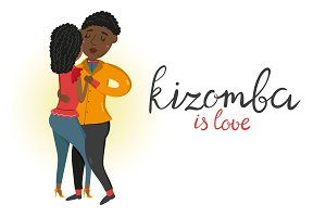 Kizomba vector set