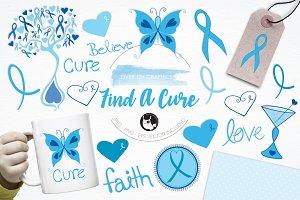Find a cure illustration pack