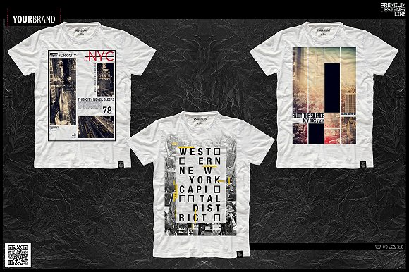 New York City T-Shirt Print