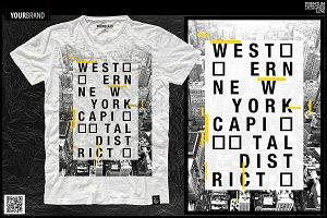 New York City / T-Shirt Print