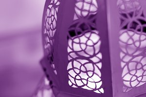 Purple Marroqui Lighthouse