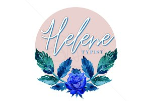 Feminine logo design | premade logo