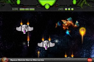 Space Battle Game Elements