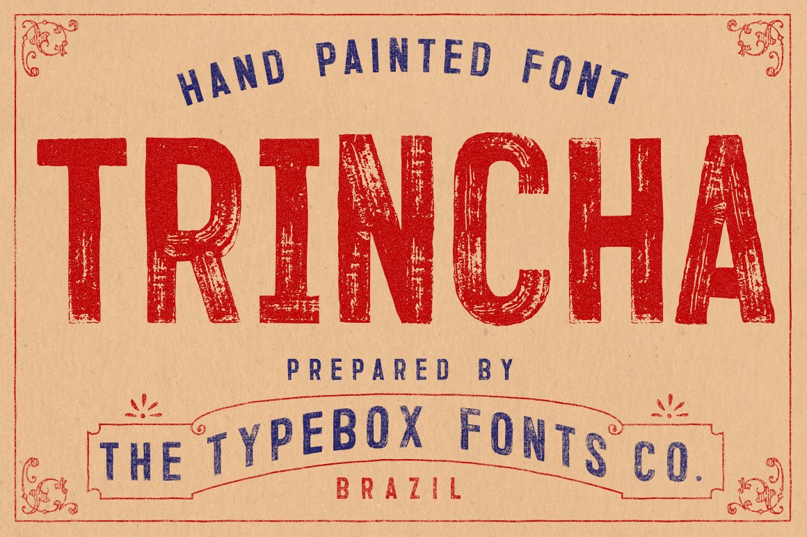 20 Sign Painter Fonts to Create Labels, Signs, and Cards ~ Creative ...
