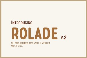 Rolade Typeface (UPDATED)