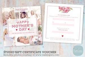 VG012 Gift Certificate Template