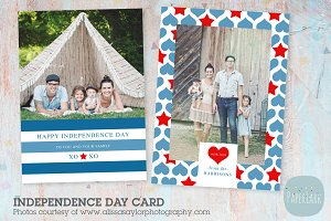 AP001 Independence Day Card