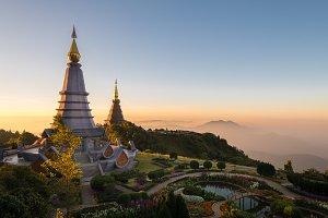 Pagoda in Chiang Mai