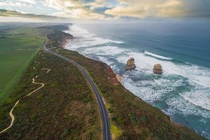 Great Ocean Road with Gog and Magog