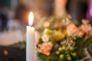 Candle Light 1 / Stock Photo