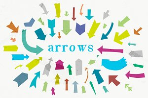 53 Vector Arrow Shapes