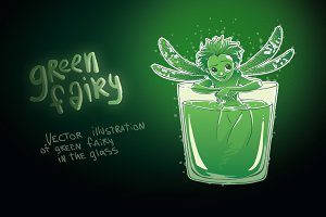 Absinthe green fairy