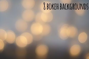 8 bokeh backgrounds