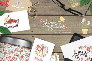 Sweet garden collection
