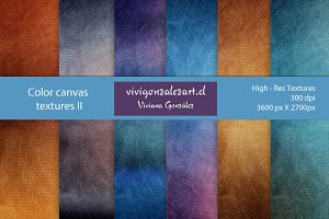 Color canvas textures II
