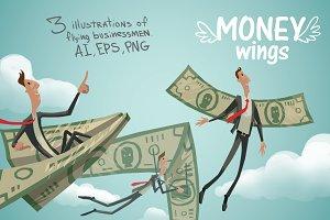 Money wings