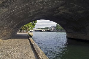 Embankment of the river Seine.